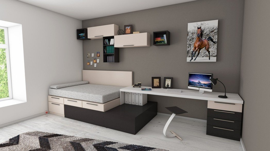 尖角的家具