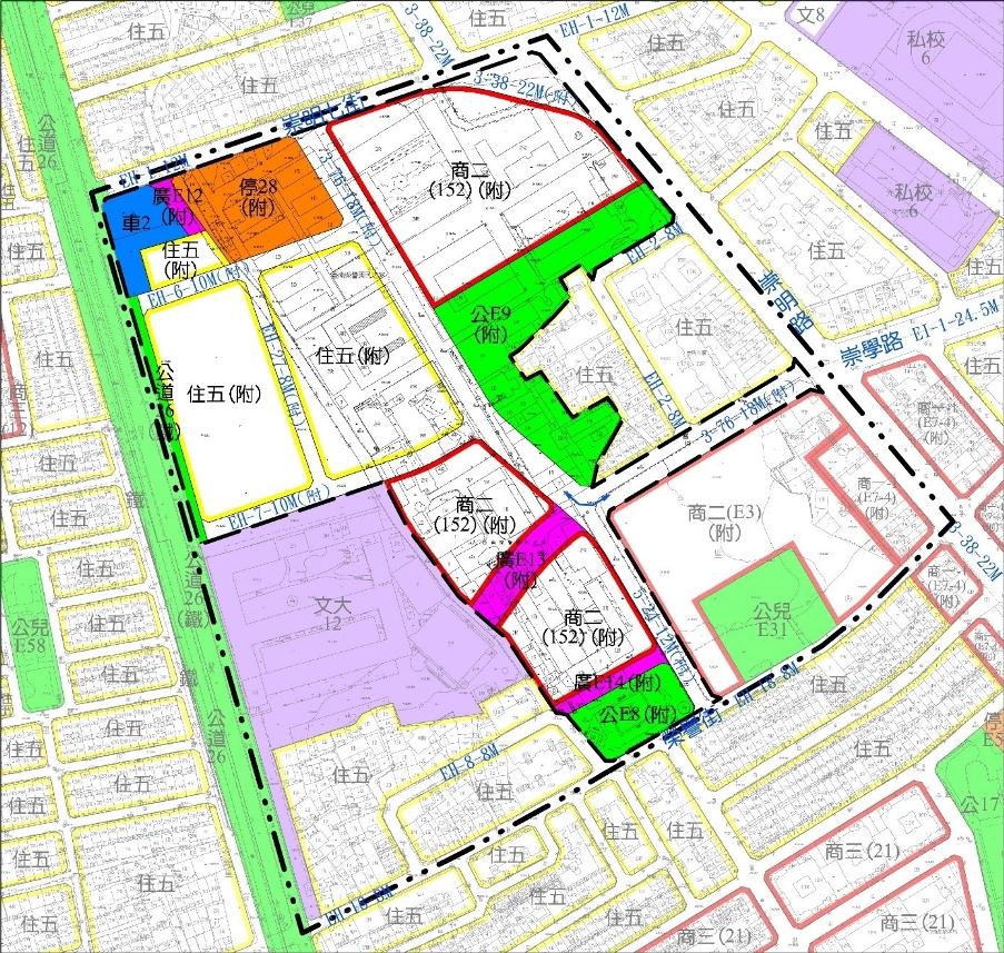 台南市東區細部計畫「機35」