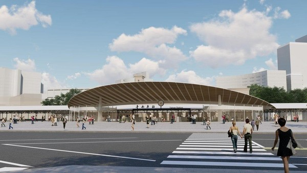 新車站加上鐵路地下化