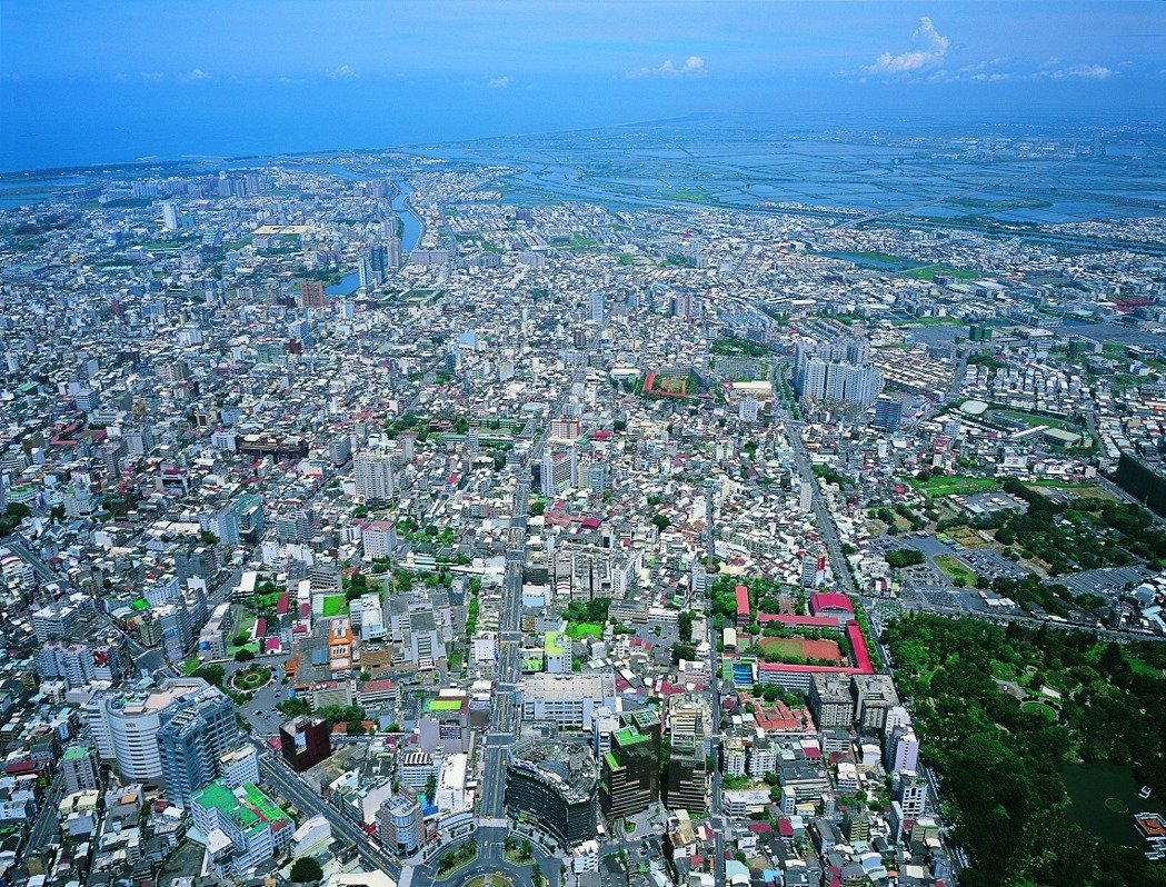 台南都市計畫第五次通盤檢討實施